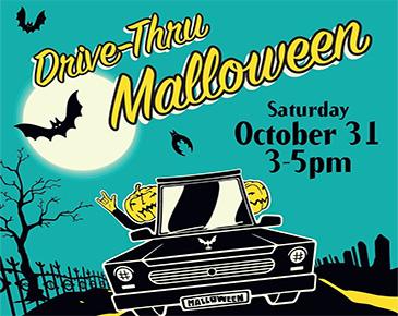 Drive-thru Mall-O-Ween | Bellevue.com