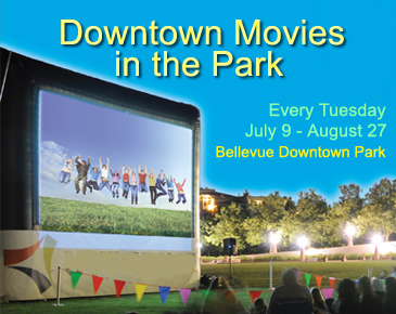 Summer Outdoor Movies at Bellevue Downtown Park | Bellevue.com