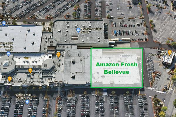 Amazon Fresh Factoria | Bellevue.com