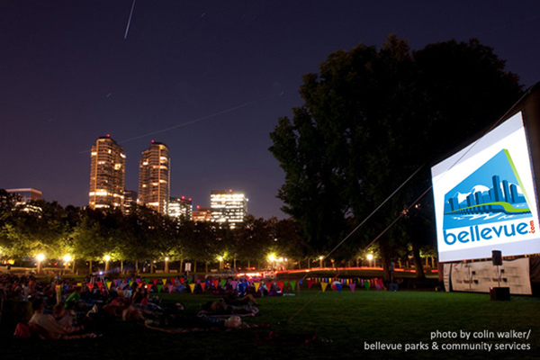 Bellevue Summer Outdoor Movies in the Park | Bellevue.com