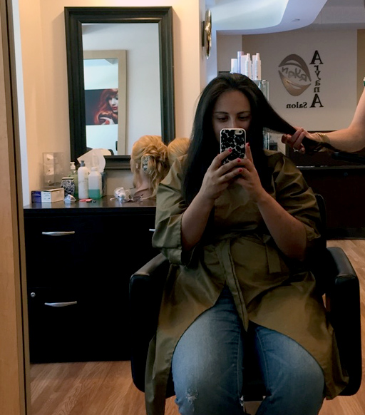 Yekta gets pampered at Aryana Salon