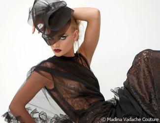 Madina Vadache Film Noir Fashion Show | Bellevue.com