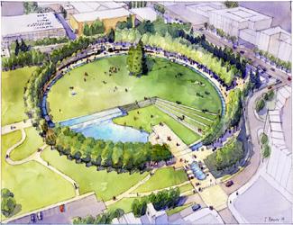 Bellevue Downtown Park reopning June 28, 2017   Bellevue.com