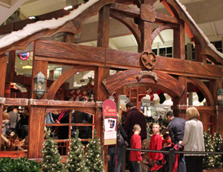 Bellevue Square Mall >> Santa S Snowflake Lane Factory Bellevue Events Happenings